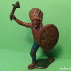 Figuras de Goma y PVC: TEIXIDO INDIO DE GOMA. Lote 151427306
