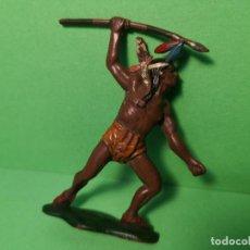 Figuras de Goma y PVC: TEIXIDO INDIO DE GOMA. Lote 151427414