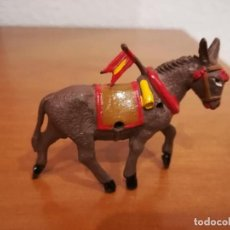 Figuras de Goma y PVC: MULA DEL ARRASTRE DEL TORO.GOMA. Lote 151457786