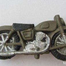Figuras de Goma y PVC: MOTO DEL EJERCITO ESPAÑOL-GOMA. Lote 151457930