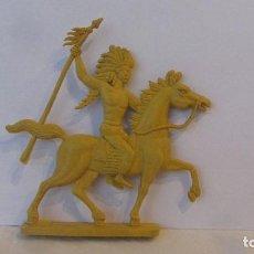 Figuras de Goma y PVC: INDIO-PLANO. Lote 151458214