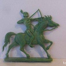Figuras de Goma y PVC: INDIO-PLANO. Lote 151458258