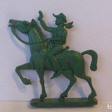 Figuras de Goma y PVC: VAQUERO PLANO. Lote 151458406
