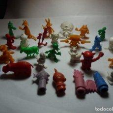 Figuras de Goma y PVC: MAGNIFICAS 29 FIGURAS DUNKIN,SALIDA 1 EURO. Lote 151460970