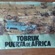 Figuras de Goma y PVC: SOBRE TOBRUK PUERTA DE ÁFRICA. Lote 151479086