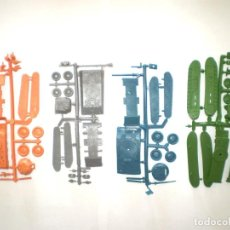 Figuras de Goma y PVC: MONTAPLEX LOTE DE 4 COLADAS TANQUES DIFERENTES. Lote 151490658