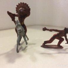 Figuras de Goma y PVC: INDIOS PECH GOMA - 54 MM. Lote 151525246