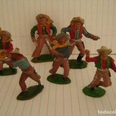 Figuras de Goma y PVC: COW-BOYS LAFREDO-GOMA. Lote 151580534