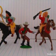 Figuras de Goma y PVC: COW-BOYS LAFREDO. Lote 151581154