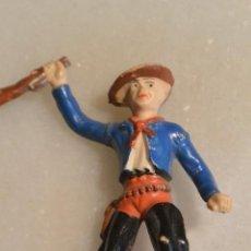 Figuras de Goma y PVC: FIGURA GOMA PVC VAQUERO AMERICANO. Lote 151597170