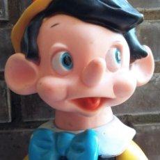 Figuras de Goma y PVC: PINOCHO: MUÑECO DE GOMA DE FAMOSA DE UNOS 35CM APROX., AÑOS 60-70. Lote 151652546