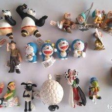 Figuras de Goma y PVC: COMANSI LOTE DE 21 FIGURAS DE GOMA, NUEVAS, CON ETIQUETA AÚN PUESTA. VER FOTOS. Lote 151716466