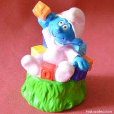 Figuras de Goma y PVC: PITUFO PEYO - DE PLASTICO HUECO - 1999 - 19 - BIP HOLLAND. Lote 151755182