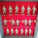 Figuras de Goma y PVC: 17 FIGURAS DEL DESFILE DE LA LEGION, REAMSA, GOMARSA, SOLDIS, PLASTICO AÑOS 60 / 70, MUY BUEN ESTADO. Lote 151780570