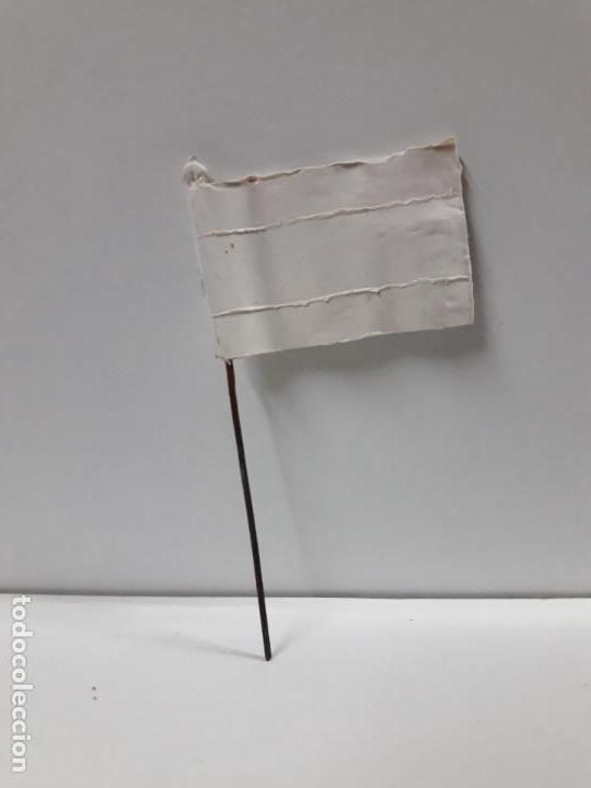 BANDERA . REALIZADA POR PECH . AÑOS 60 (Juguetes - Figuras de Goma y Pvc - Pech)