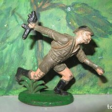 Figuras de Goma y PVC: BRITANICO DE COMANSI-GOMA. Lote 151910654