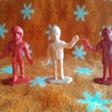 Figuras de Goma y PVC: 3 FIGURAS DIFERENTES COMANSI SERIE THUNDERBIRDS NUEVAS. Lote 151930298