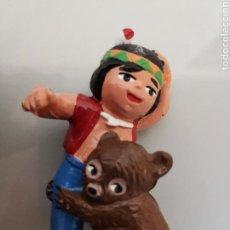 Figuras de Goma y PVC: FIGURA PVC SENDA JACKY Y NUCA EL BOSQUE DE TALLAC SPAIN NIPPON EURA. Lote 151960209