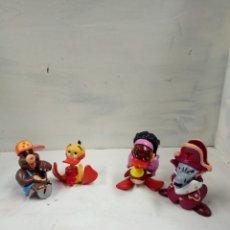 Figuras de Goma y PVC: ALFRED J KWAK, 4 PERSONAJES. Lote 151972692
