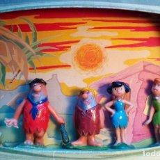 Figuras de Goma y PVC: JESAN - LOS PICAPIEDRA - HANNA-BARBERA - 1962. Lote 151973270