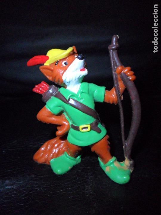 ROBIN HOOD - FIGURA PVC DISNEY - BULLYLAND (Juguetes - Figuras de Goma y Pvc - Bully)