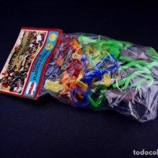 Figuras de Goma y PVC: TODO EL OESTE AMERICANO. BLISTER NOVOLINEA. Lote 152010126