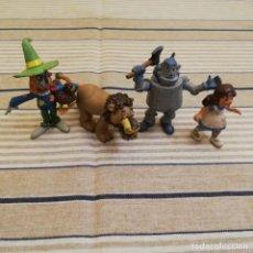 Figuras de Goma y PVC: LOTE DE LAS 4 FIGURAS DEL MAGO DE OZ. Lote 152034826