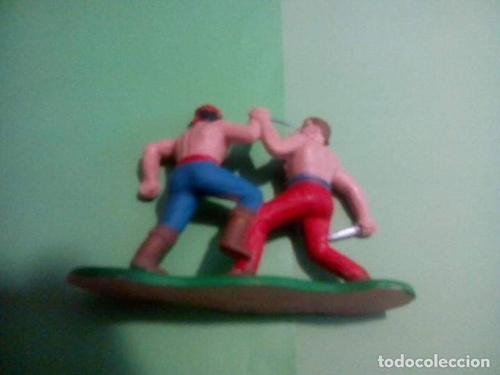 Figuras de Goma y PVC: LUCHA COWBOY-INDIO, GUERRA EN LA RESERVACION. REAMSA - Foto 2 - 152042150