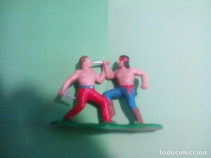 Figuras de Goma y PVC: LUCHA COWBOY-INDIO, GUERRA EN LA RESERVACION. REAMSA - Foto 3 - 152042150
