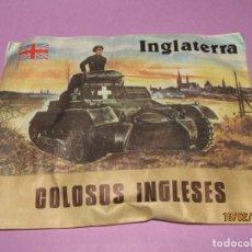 Figuras de Goma y PVC: ANTIGUO SOBRE SORPRESA COLOSOS INGLESES - SIN ABRIR - AÑO 1970S.. Lote 243613775