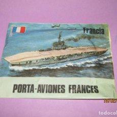 Figuras de Goma y PVC: ANTIGUO SOBRE SORPRESA POSTA-AVIONES FRANCES - SIN ABRIR - AÑO 1970S.. Lote 152054706