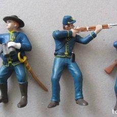 Figuras de Goma y PVC: YANQUIS DE PVC. Lote 152060682