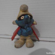 Figuras de Goma y PVC: FIGURA SERIE PITUFOS, PITUFO LADRON. Lote 152149210