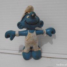 Figuras de Goma y PVC: FIGURA SERIE PITUFOS, PITUFO GIMNASTA. Lote 152151250