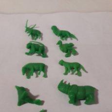 Figuras de Goma y PVC: DUNKIN FIGURAS ANIMALES. Lote 152154166