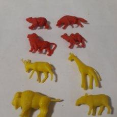 Figuras de Goma y PVC: DUNKIN FIGURAS ANIMALES VARIADAS. Lote 152169786