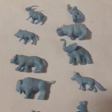 Figuras de Goma y PVC: DUNKIN FIGURAS ANIMALES. Lote 152170789