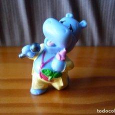 Figuras Kinder: FIGURA KINDER - HIPOPÓTAMO CANTANTE. Lote 152288222