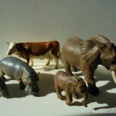 Figuras de Goma y PVC: LOTE ANIMALES SCHEICH. Lote 152336130