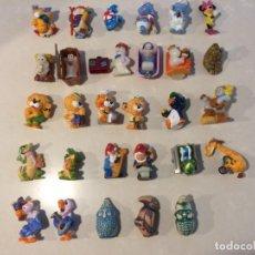 Figuras Kinder: LOTE FIGURAS KINDER DE VARIAS COLECCIONES. Lote 152382742