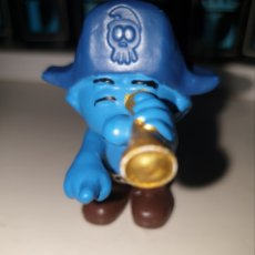 Figuras de Goma y PVC: BONITA FIGURA PVC GOMA PITUFO PIRATA MARCA SCHLEICH. Lote 152388485
