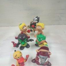 Figuras de Goma y PVC: PATO, TOPO (ALFRED) ASTRONIKS, ADÁN Y EVA, GATO FELIX. Lote 152407934