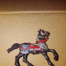 Figuras de Goma y PVC: CABALLO MEDIEVAL PVC REAMSA PLÁSTICO LAFREDO . Lote 152468266