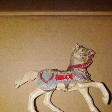 Figuras de Goma y PVC: CABALLO MEDIEVAL PVC REAMSA PLÁSTICO LAFREDO . Lote 152468378