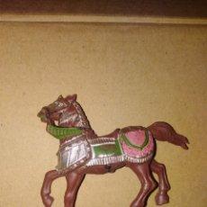 Figuras de Goma y PVC: CABALLO MEDIEVAL PVC REAMSA PLÁSTICO LAFREDO . Lote 152468458