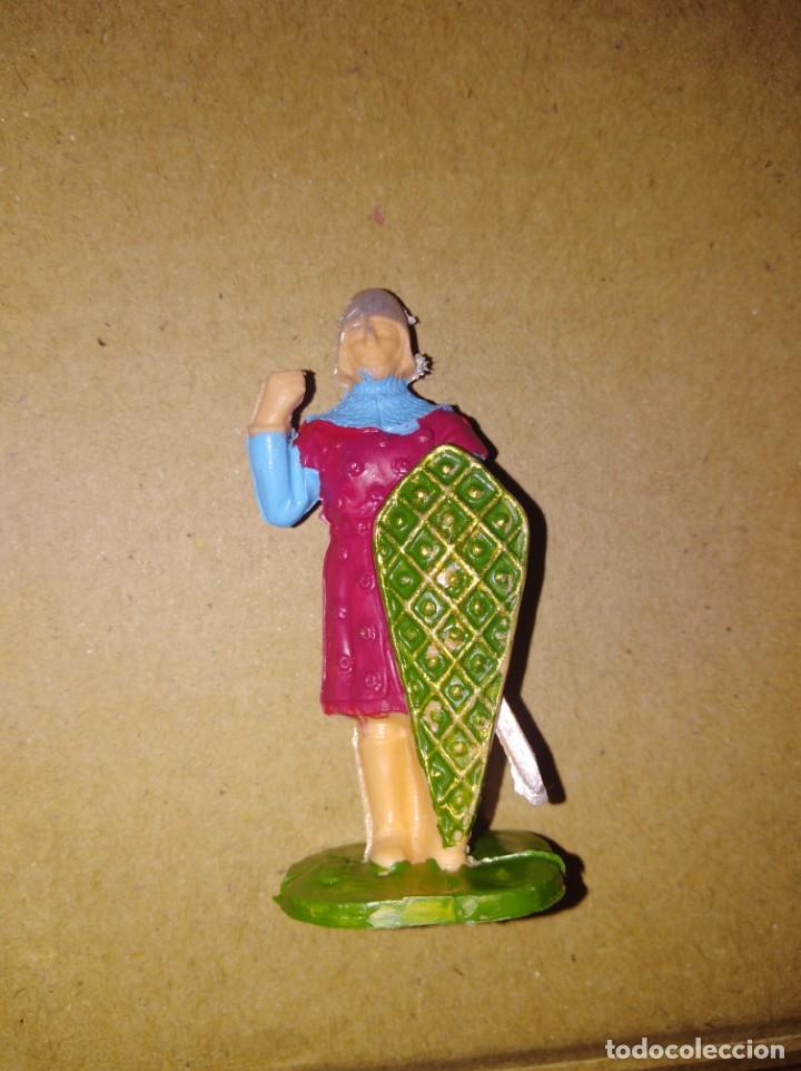 FIGURA SOLDADO MEDIEVAL PVC REAMSA PLÁSTICO LAFREDO (Juguetes - Figuras de Goma y Pvc - Reamsa y Gomarsa)