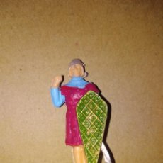 Figuras de Goma y PVC: FIGURA SOLDADO MEDIEVAL PVC REAMSA PLÁSTICO LAFREDO . Lote 152468742