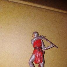Figuras de Goma y PVC: FIGURA MEDIEVALES JECSAN PLÁSTICO PVC SOLDADO MEDIEVAL . Lote 152470366