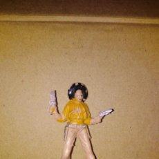 Figuras de Goma y PVC: FIGURA OESTE VAQUERO JECSAN PLÁSTICO PVC SOLDADO L . Lote 152470534
