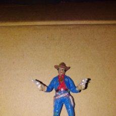 Figuras de Goma y PVC: FIGURA OESTE VAQUERO JECSAN PLÁSTICO PVC SOLDADO L . Lote 152470814